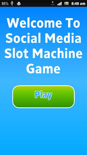 Social Media Slot Machine