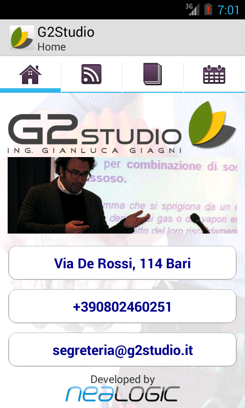 G2Studio News & Safety Lite - screenshot