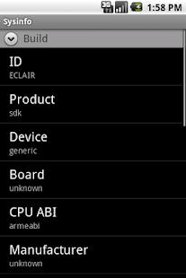 Sysinfo - screenshot thumbnail