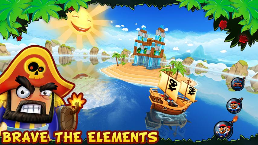 Potshot Pirates 3D- screenshot