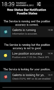 GAlerts - GPS alerts for trips - screenshot thumbnail