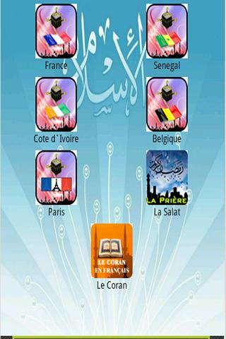 Horaire de Prière Qibla