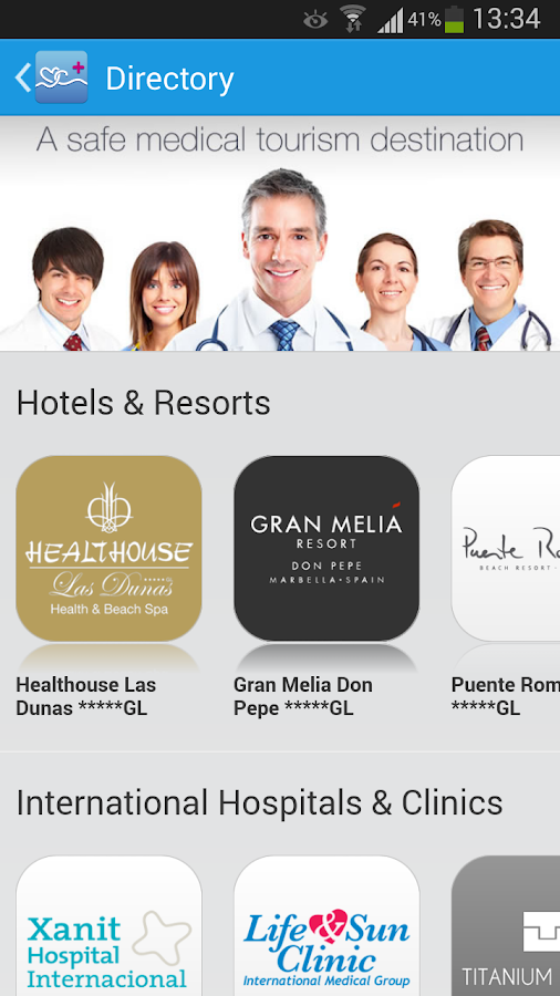 Marbella Care - screenshot