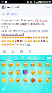 Summer Hour - Emoji Keyboard