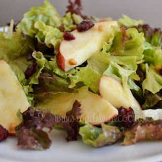 Apple and Peanut Salad.