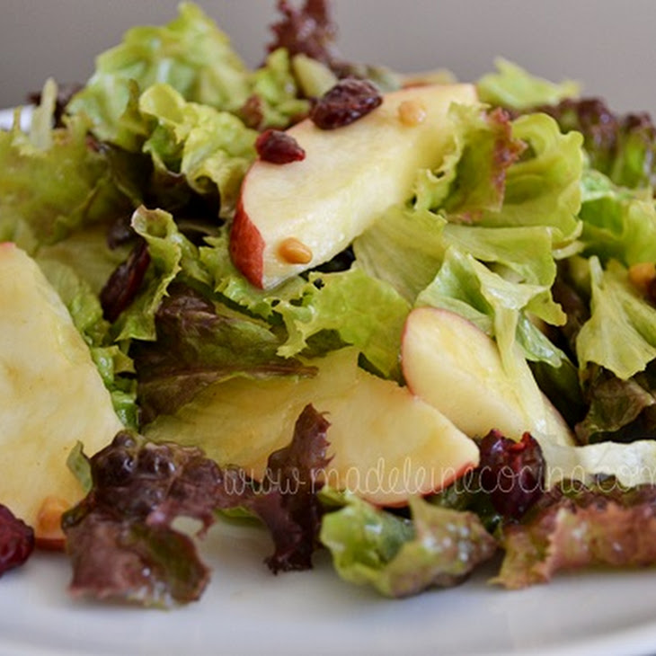 Apple and Peanut Salad