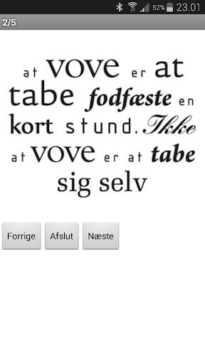 Danske citater Lite