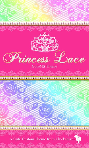 Princess Rainbow Lace Theme