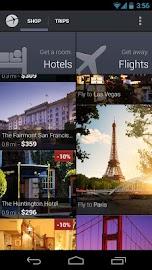Expedia Hotels & Flights Screenshot 1