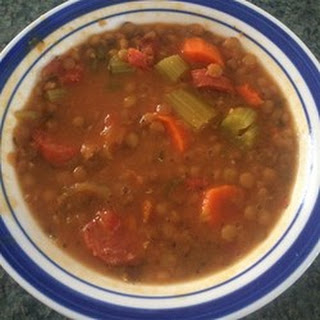 Lentil and Smoked Sausage Soup