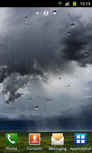 雨動態壁紙 玩個人化App免費 玩APPs