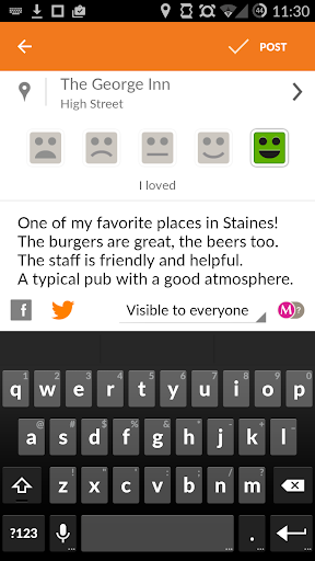 Tellmewhere screenshot 6