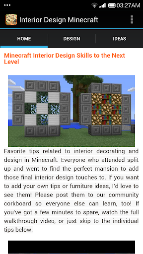 Guide Minecraft InteriorDesign