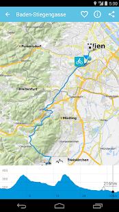 Bikemap - Your bike routes - screenshot thumbnail