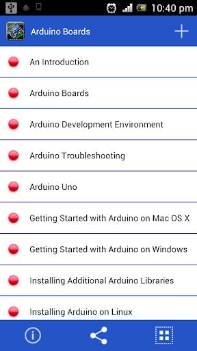 【免費書籍App】Arduino Boards Free-APP點子