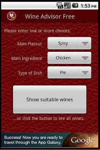 Wino the Wine Advisor (Free) – Vignette de la capture d'écran