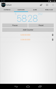 Stopwatch Timer Alarm Ad-free - screenshot thumbnail