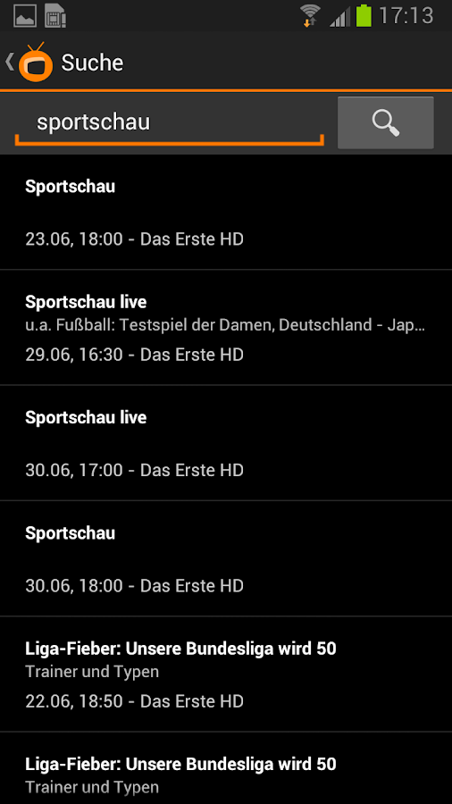 Zattoo Live TV - Sport, News.. - screenshot
