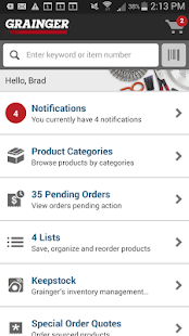 Grainger Mobile - screenshot thumbnail