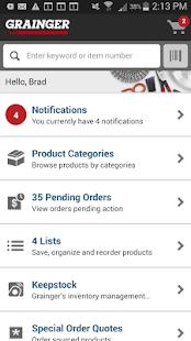 Grainger Mobile - screenshot thumbnail