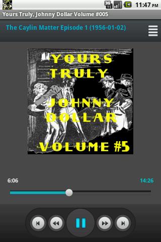 Yours Truly Johnny Dollar V 5
