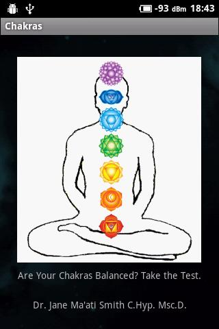 Daily Chakra Balancing Test