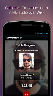 Truphone - screenshot thumbnail
