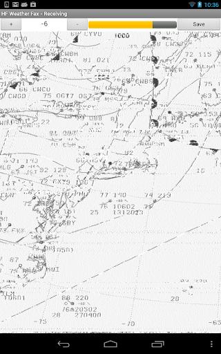 HF Weather Fax screenshot