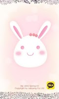 Screenshot of KakaoTalk theme Spring Rabbit