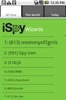Screenshot of iSpy