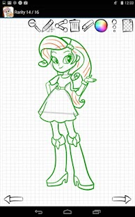 Learn to Draw Equestria Girls APK for Ubuntu