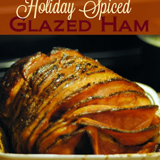 Holiday Spiced Glazed Ham