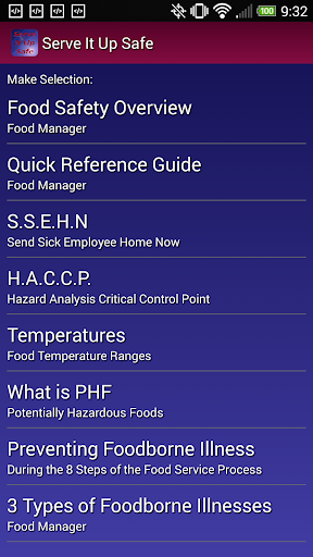 【免費書籍App】Serve It Up Safe-APP點子