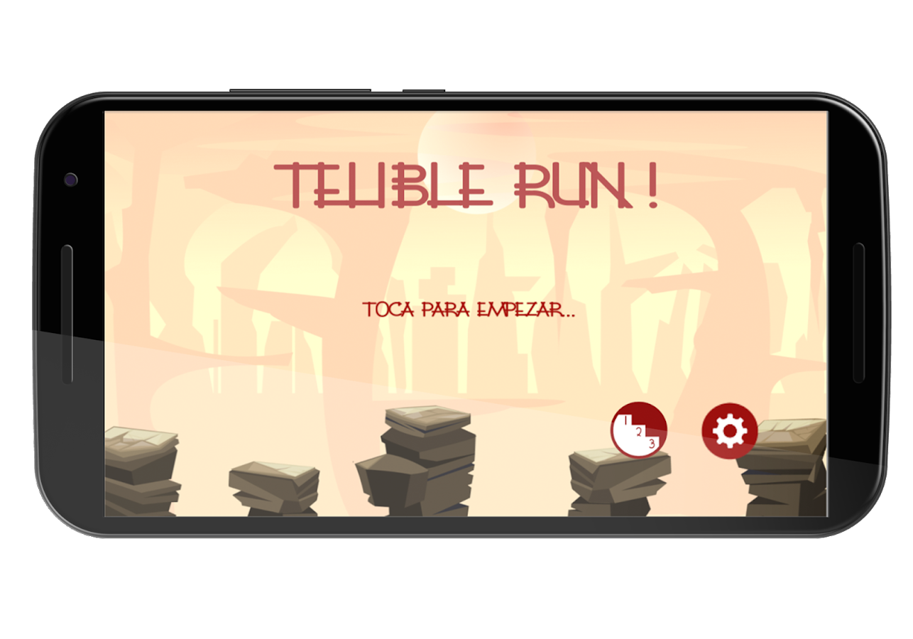 Telible Run: captura de pantalla