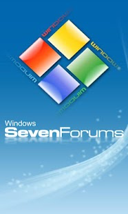 Seven Forums App - screenshot thumbnail