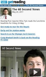 getreading - screenshot thumbnail