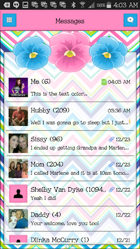 GO SMS THEME - SCS436