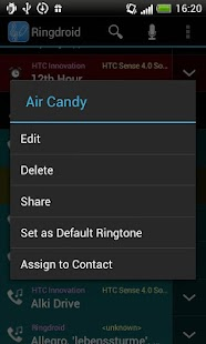 Ringdroid - Ringtone Maker - screenshot thumbnail