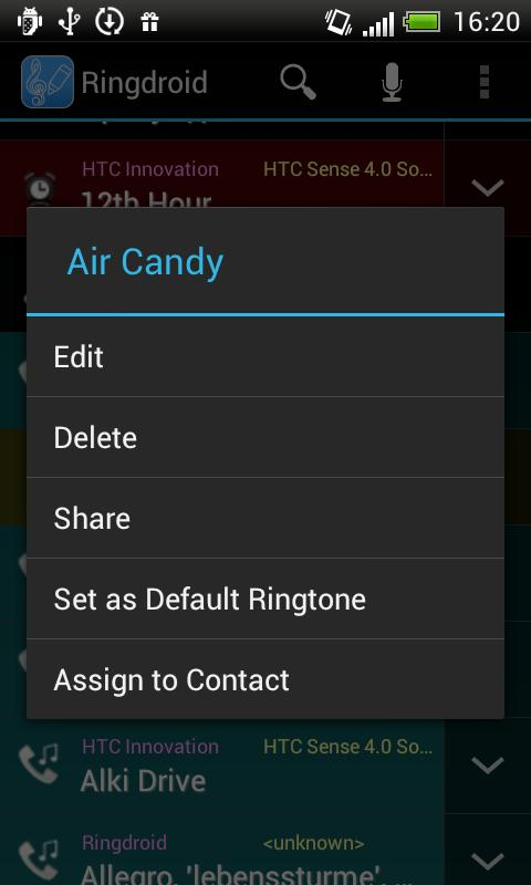 Ringdroid - Ringtone Maker - screenshot