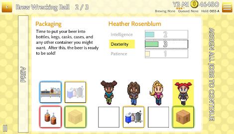 Fiz : Brewery Management Game Screenshot 24