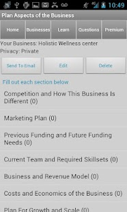 Business Plan & Start Startup - screenshot thumbnail