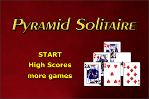Screenshot of Pyramid Solitaire