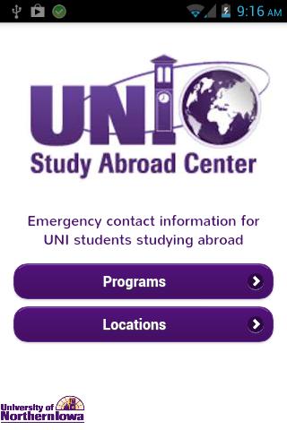 UNI Study Abroad