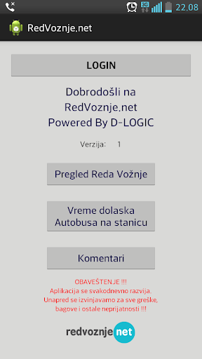 Red Voznje BusLogic