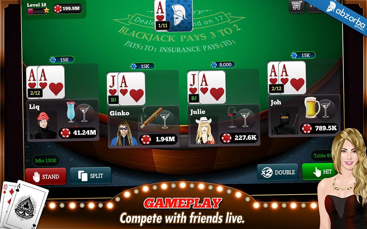 BlackJack 21 Pro - screenshot