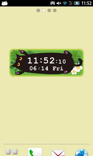 へそてんMOSHINEKO時計