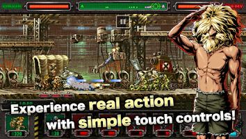 Screenshot of METAL SLUG DEFENSE