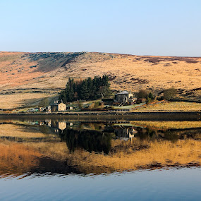 Widdop Reservoir  by Colin Wood - Novices Only Landscapes ( countryside, water, england, reflection, landscape )