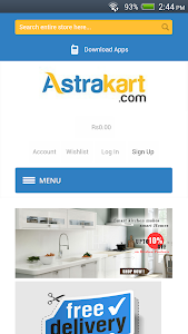Astrakart screenshot 1