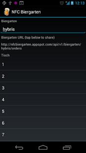 NFC Biergarten- screenshot thumbnail